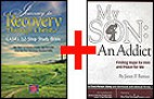 Combo: Journey to Recovery Through Christ: CASA's 12-Step Study Bible & My Son: An Addict